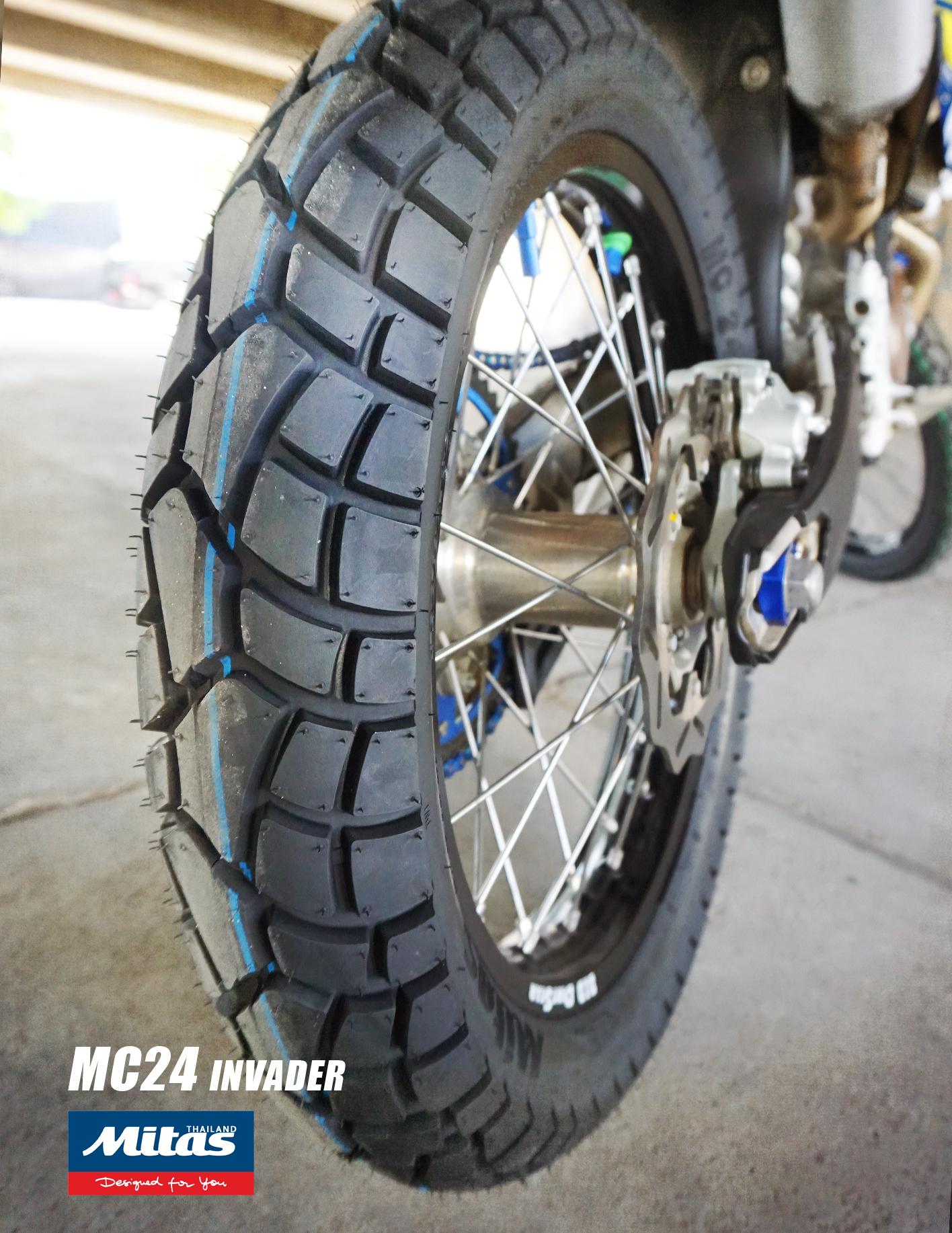 MITAS MC24,ยางCRF,ยางKLX,ยางD-TRACKER